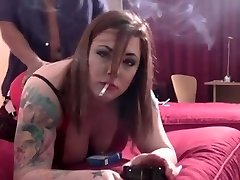 Interracial BBW Creampie! Blowage Smoking Fetish