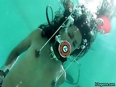 Drea Morgan Hog Tied Underwater