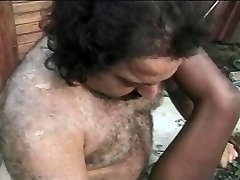 Black outside pool fuckslut hammered by the ron