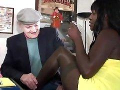 voyeur papy loves black melons