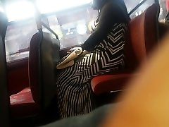 Phat Booty Zebra Dress Candid Pt 2.