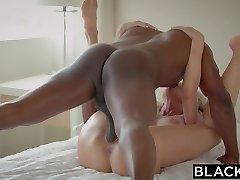 BLACKED Cheating MILF Brandi Luvs First Big Black Boner