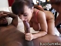 MILF TAKES 2 BLACK Dicks