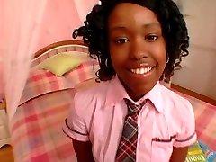 Cute Black Schoolgirl Fuck Diamond