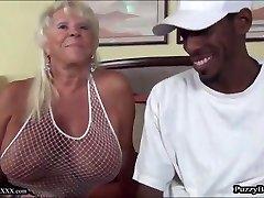 72 year old Grandmother Craves Big Black Cock