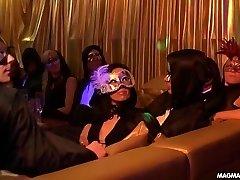 Gangbang at Swingers club