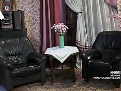 Old cock pounds young Russian maid