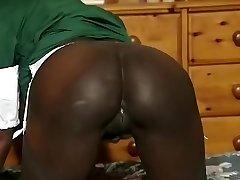 Best amateur Black and Ebony, Enormous Tits sex video