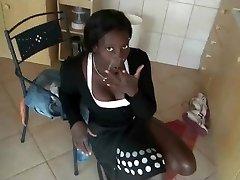 Ebony Maid Fucked By Her Boss