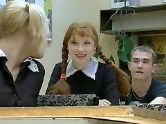 Fresh Girl in School