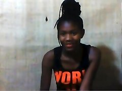 African college woman Princess