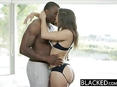 BLACKED Immense Booty Dame Abella Danger Worships Big Black Cock