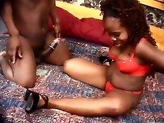 Midget ebony couple