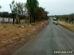 hot hump at my african safari journey