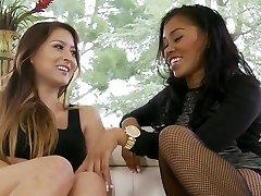 Seduced by a cute Black Woman. With BD & YdL