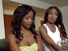 WCP CLUB Ebony lesbian roommates