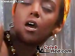 African Red-hot Woman Fucked Hard