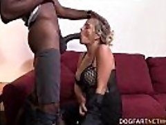 Cougar Lexxi Lash Having Her First Interracial Tear Up At DogFart Network