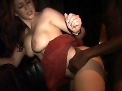 Isabella Soprano fucking a black guy at soiree 3