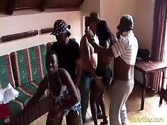 extreme insatiable african sex party