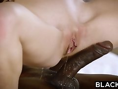 BLACKED Redhead Kimberly Brix First Big Ebony Cock