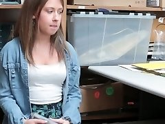 Shoplyfter - Puny Teen Patted down and Torn Up
