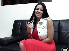 Hot Latina Humping Her Casting Agent