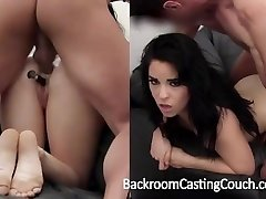 Hot Waitress Ass Humped and Internal Ejaculation Casting