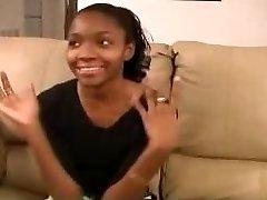 Cute Ebony Teen - Rectal Casting