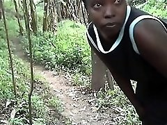 African thick ass and real climax amateur