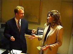 Boss's Secretary plow ebony interviewee