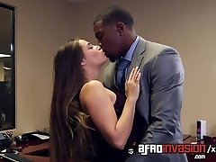White Woman Pounded by Boss and his BBC