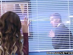 Danny gives his new boss Cassidy the fucking she craved for