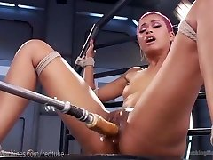 Skin Diamond Dumps On Dildo Machines