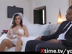 the unfaithfull italian wife. A lovely novice bride makes cuckolds her spouse on the wedding day with a giant black dick