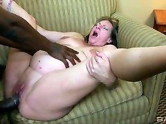 Intercourse-kinky pregnant whore Charlie Macc is fond of big black dick