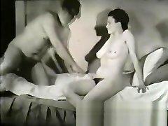 Best pornstar in crazy vintage, black and black sex movie