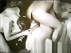 Hottest superstar in crazy vintage, black and ebony sex video