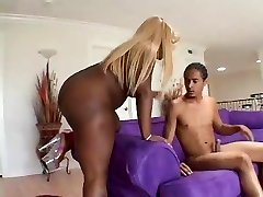 Queen B - Dark-hued Butt Bouncin