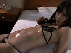 Anna Wet Lips - Black Lace Bikini