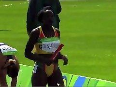 Ebony Ebony African Track Star Sexy Wag
