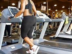 Dark-hued Booty Gym