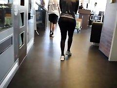 Big Ebony Ass at Gym