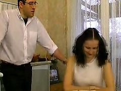 French Teen Blackmails her Individual Instructor...F70