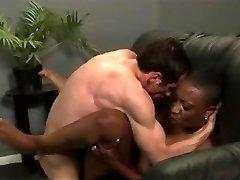 He Knobs His Big Titted Black Teacher