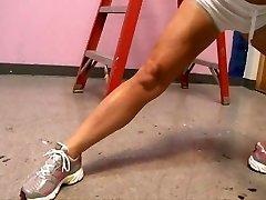 Shay Fox boinks her schoolteacher of pilates