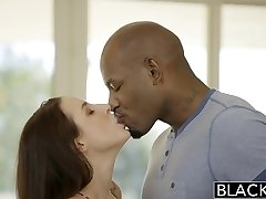 BLACKED Massive Natural Tits Babe Angela White Fucks BBC