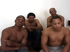 4 Good-sized Black Cocks - 1 Skinny White TEEN - Oh Precious..........