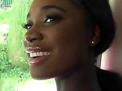 Super-cute black girl