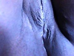 wife shaving labia 2